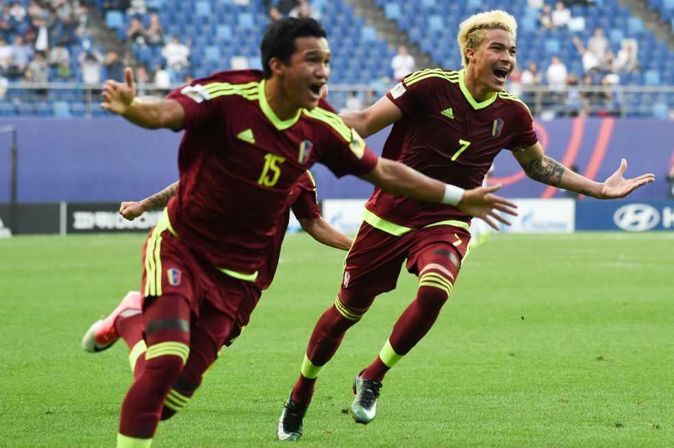 Venezuela hace historia en el Mundial sub-20