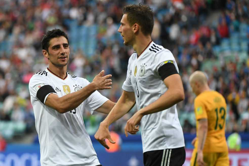 Alemania debutó con triunfo en la Copa Confederaciones