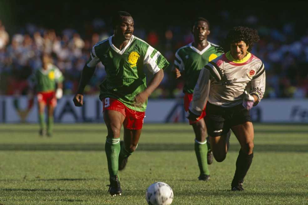 Colombia y Camerún, 27 años después