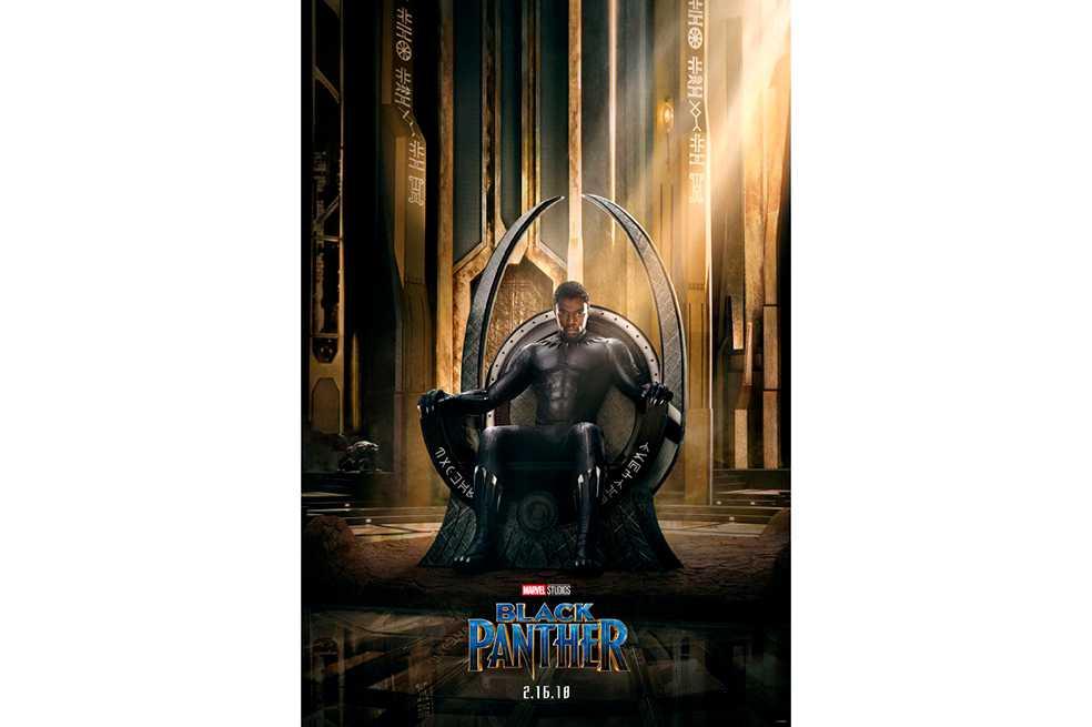 «Pantera negra» presenta su primer afiche