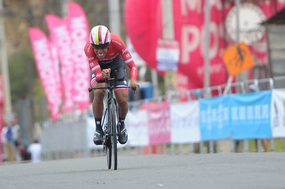 Jarlinson Pantano, gregario de lujo para Alberto Contador en el Tour