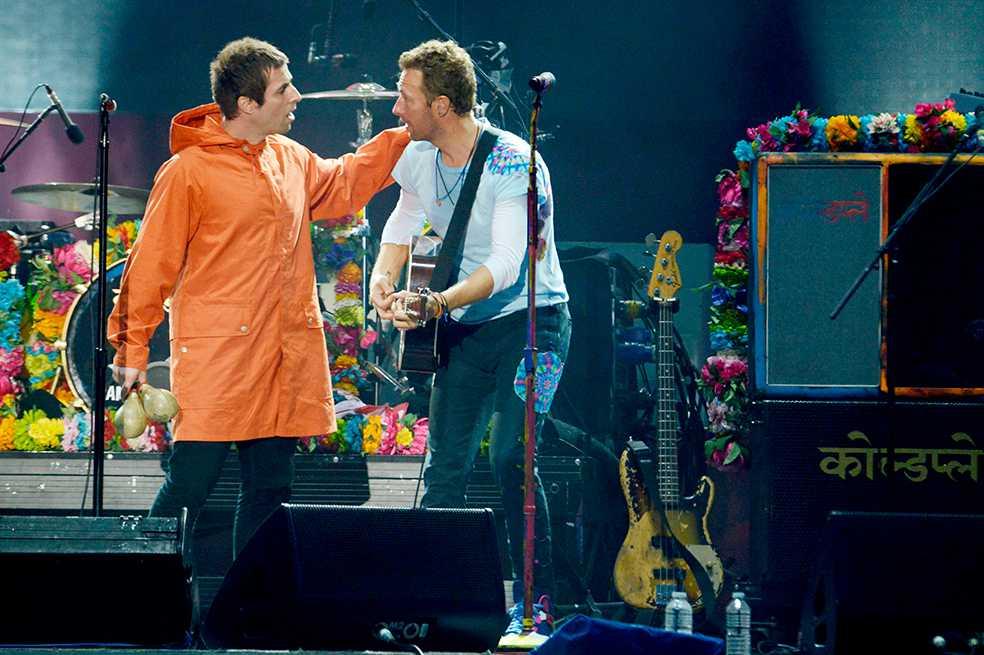 Liam Gallagher ofrece disculpas a Coldplay