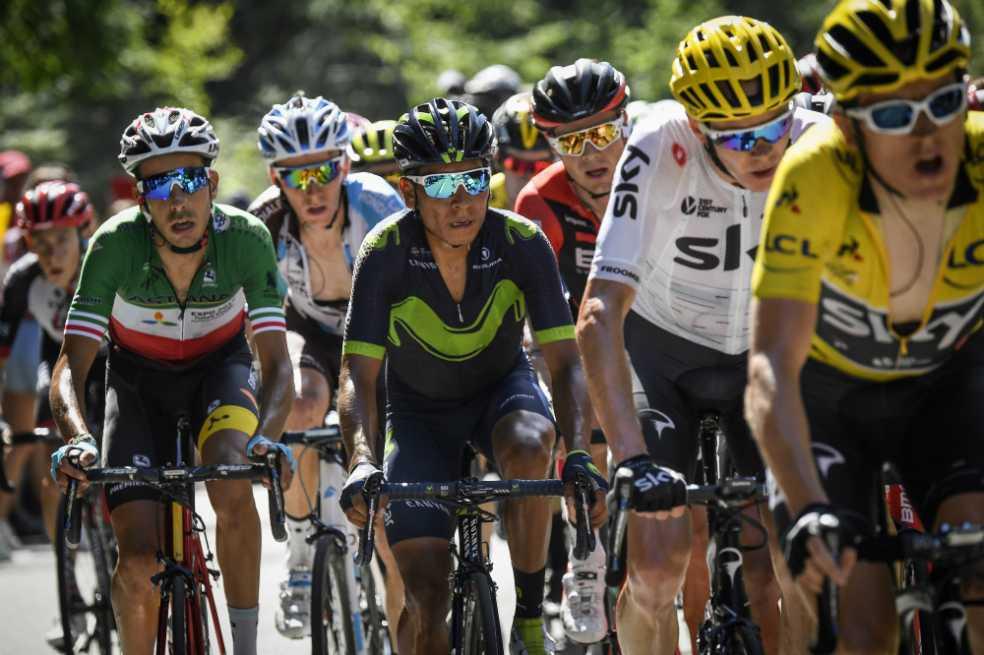 «Recuperarse para la montaña»: la consigna de los colombianos del Tour de Francia