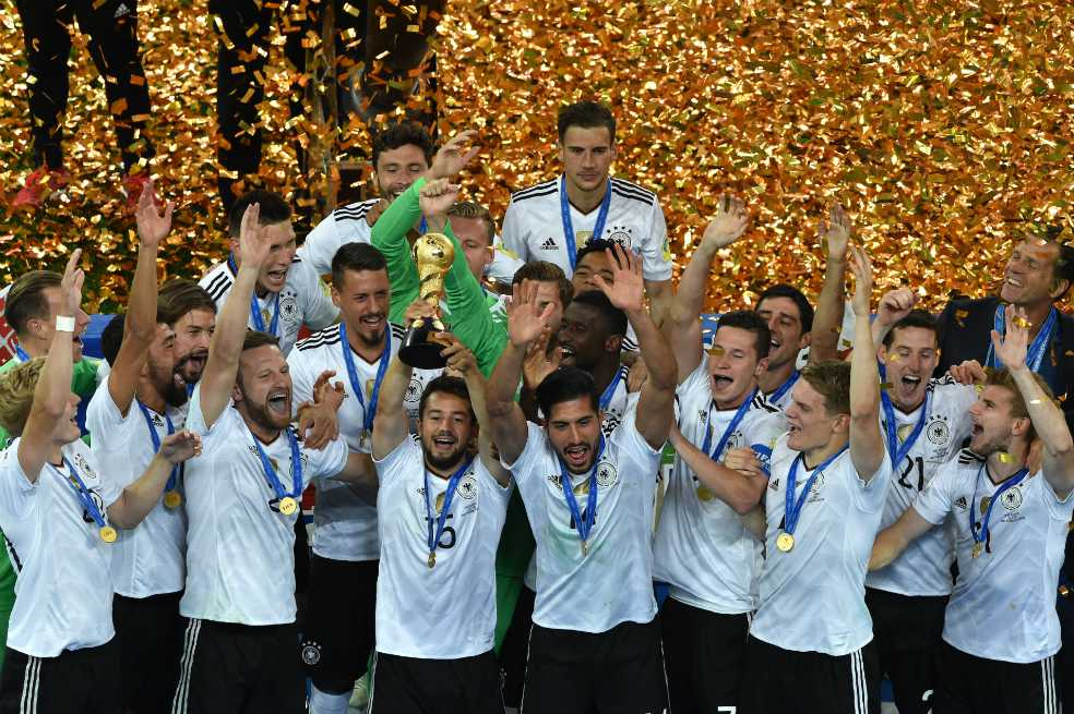 Los juveniles de Alemania se quedaron con la Copa Confederaciones