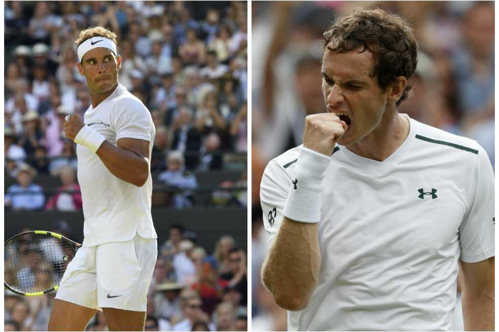 Nadal y Murray superaron sin problemas la primera ronda de Wimbledon