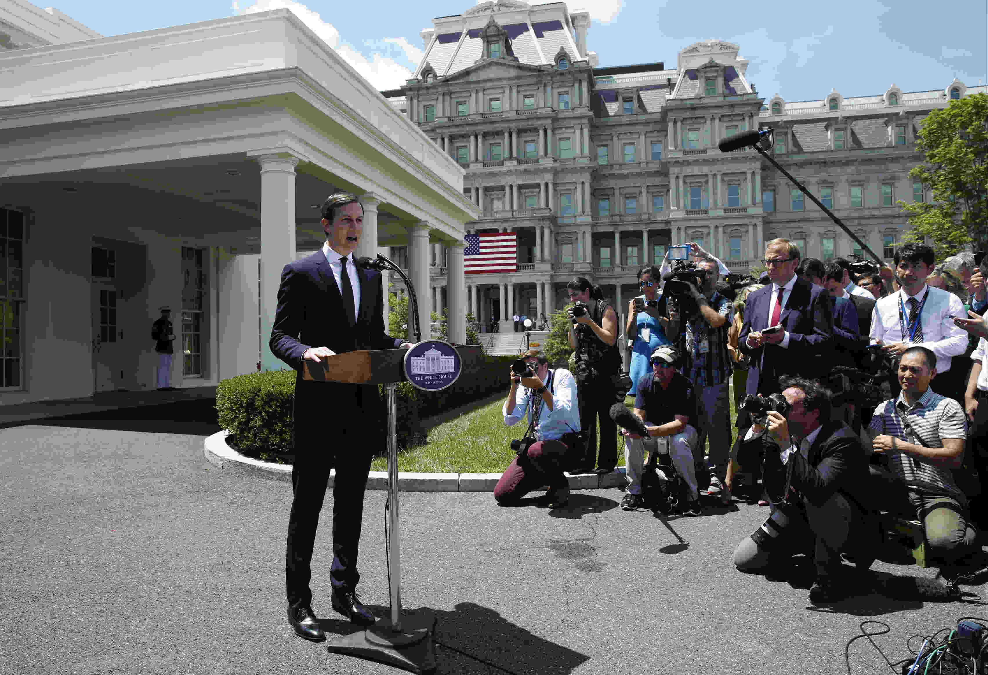 «Todas mis acciones fueron correctas», insiste el yerno de Trump