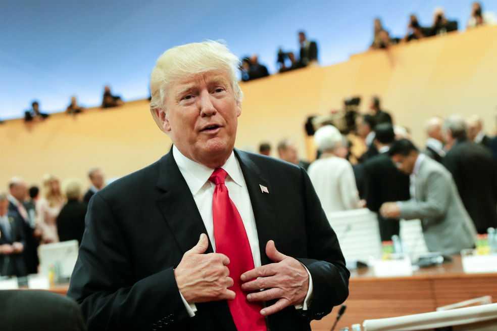 Trump dice que es hora de trabajar «constructivamente» con Rusia