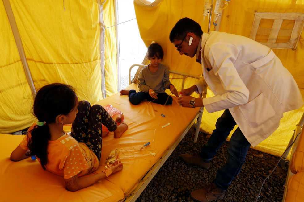 Yemen: 1.700 muertos por cólera