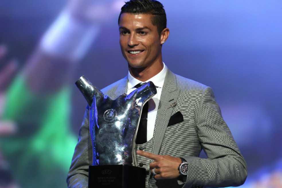 Cristiano Ronaldo, elegido por la Uefa como mejor jugador de la temporada 2016/17