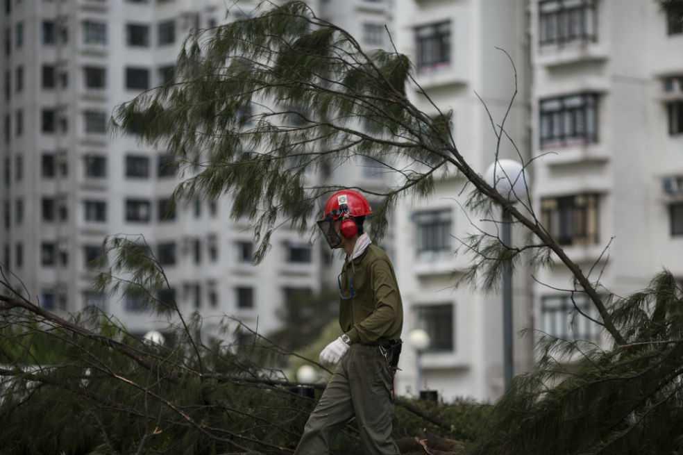 Tifón más dañino de la temporada deja al menos 16 muertos en China
