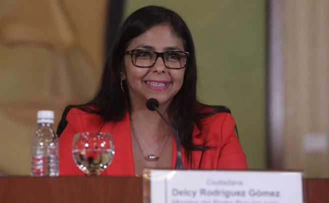 Delcy Rodríguez fue elegida como Presidente de la Asamblea Nacional Constituyente de Venezuela