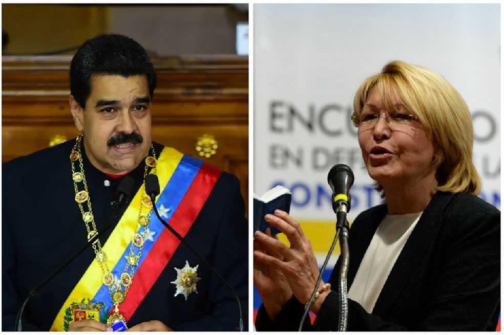 Maduro acusa a exfiscal Ortega de bloquear investigaciones de corrupción que él ordenó