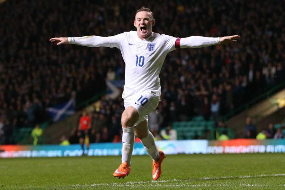 Wayne Rooney se retira de la selección de Inglaterra