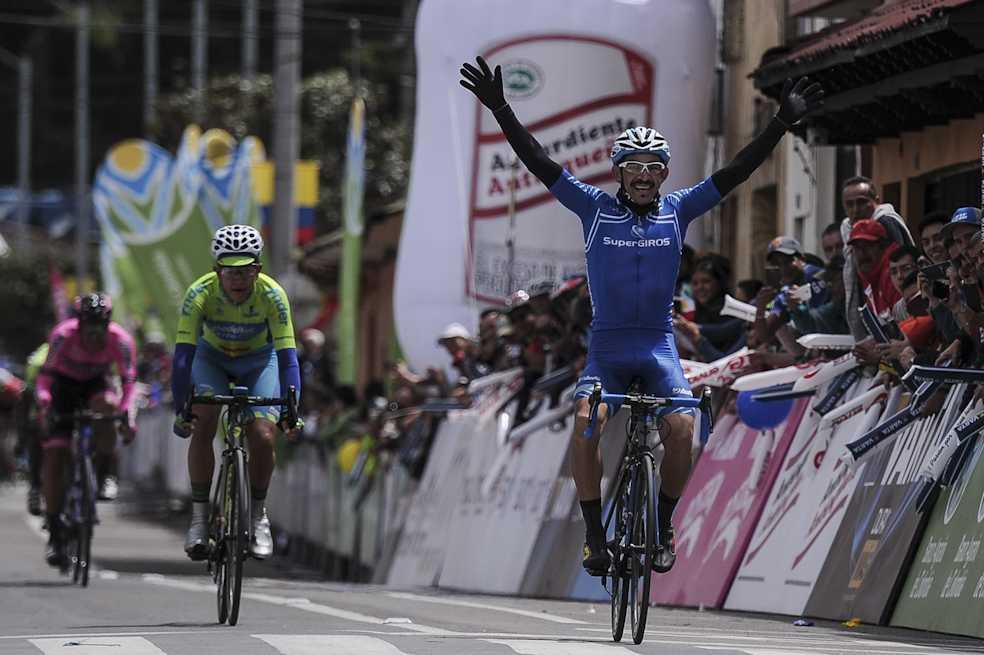 José Serpa ganó la séptima etapa de la Vuelta en Sopó
