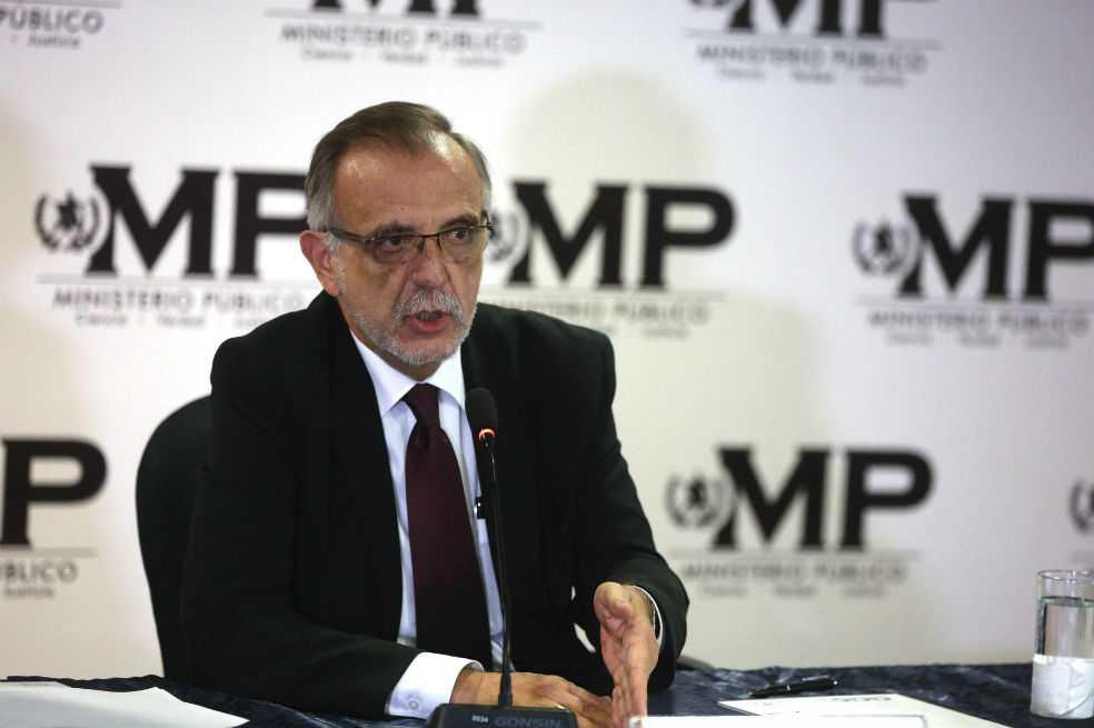 Velásquez seguirá investigando corrupción en Guatemala