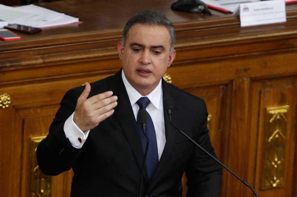 Fiscal venezolano dice que Colombia demuestra ser «epicentro» de conspiración