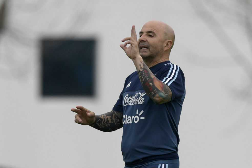 Sampaoli: «Solo nos sirve ganar»