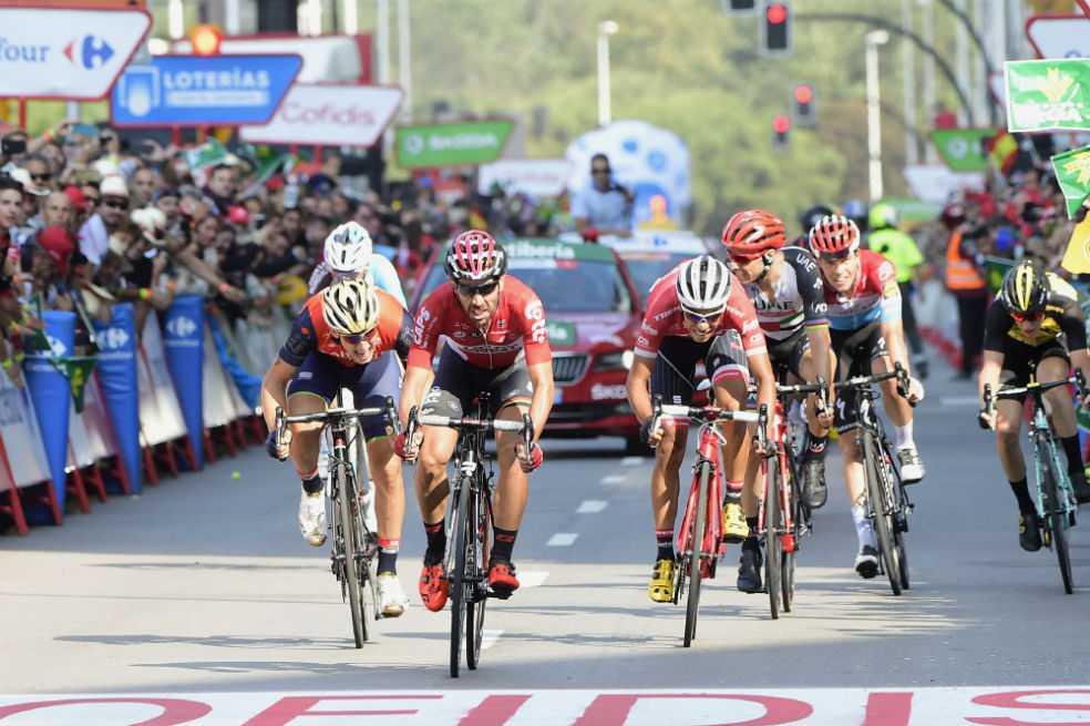 Jarlinson Pantano, segundo en la etapa 19 de la Vuelta a España