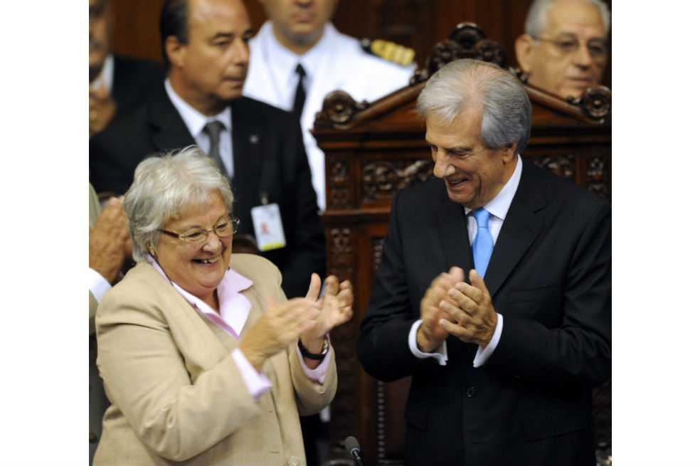 Exguerrillera, esposa de Mujica, asumirá vicepresidencia en Uruguay