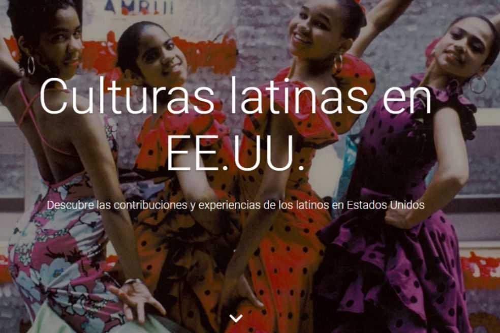 Google lanza una colección digital dedicada a la cultura latina en EE.UU.