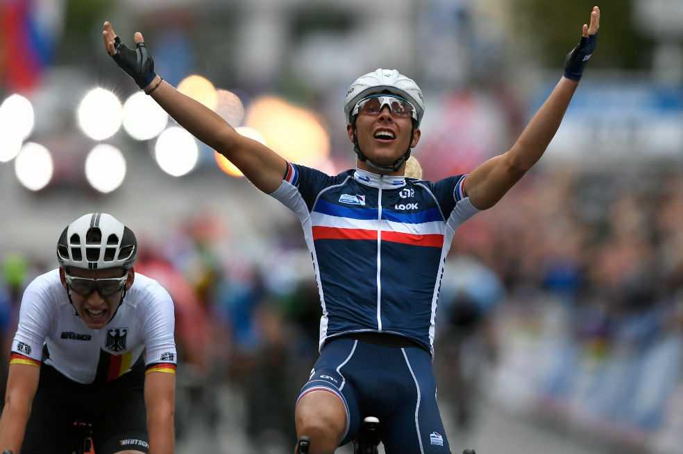 Benoit Cosnefroy es el nuevo campeón sub 23 del Mundial de Ruta