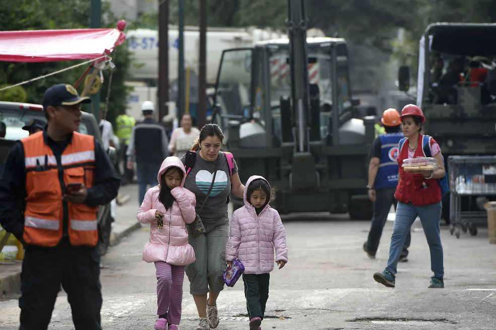 Los niños y la tragedia mexicana