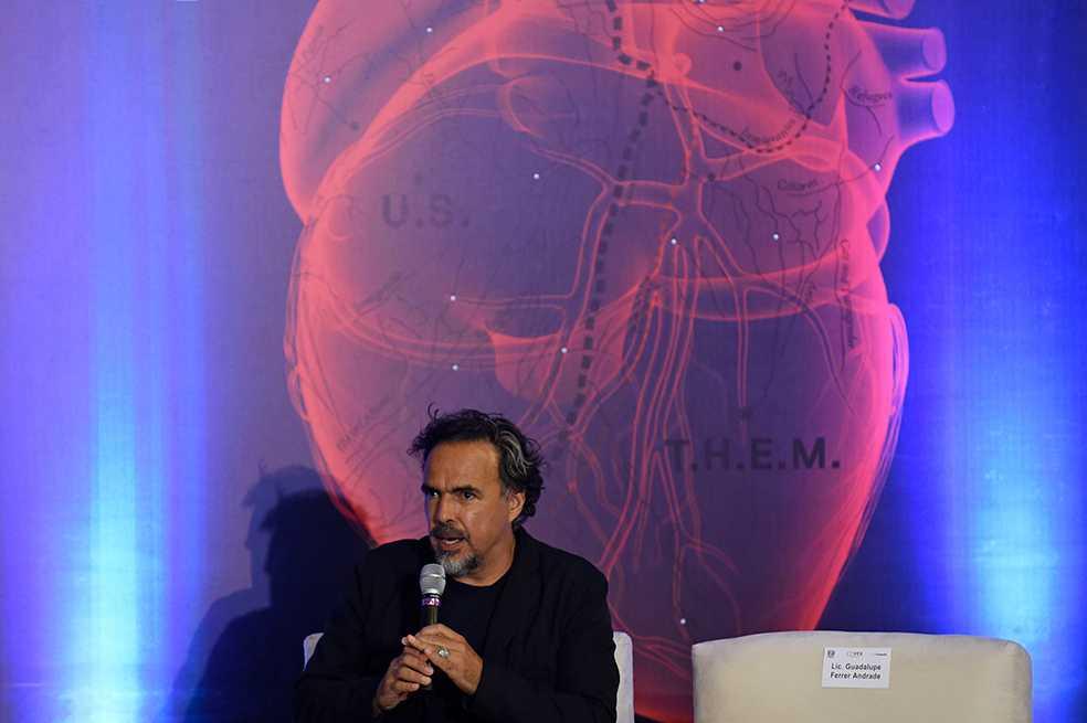 Alejandro González Iñárritu presenta su relato del drama migratorio en realidad virtual