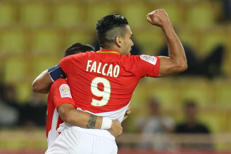 Falcao anotó en el empate entre Mónaco y Montpellier
