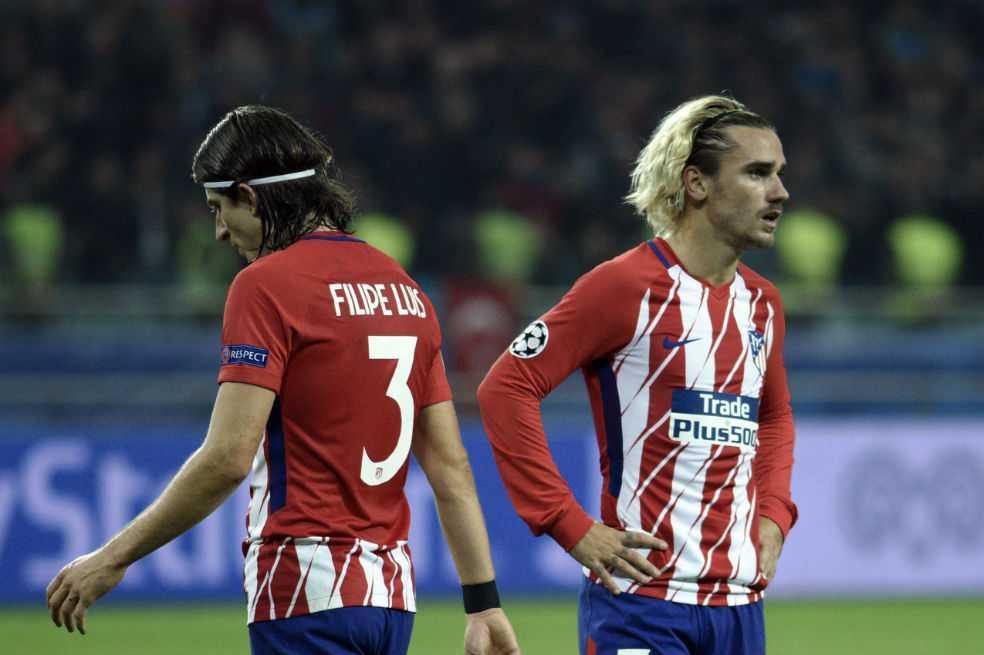 Atlético de Madrid no pasa del empate con el Qarabag en Bakú
