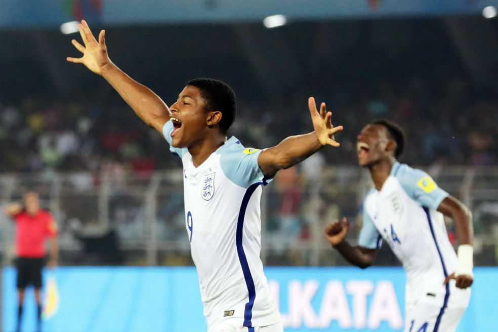 Inglaterra derrotó a Brasil y avanzó a la final del Mundial sub 17