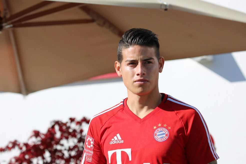 James no viajó con el Bayern a Leipzig