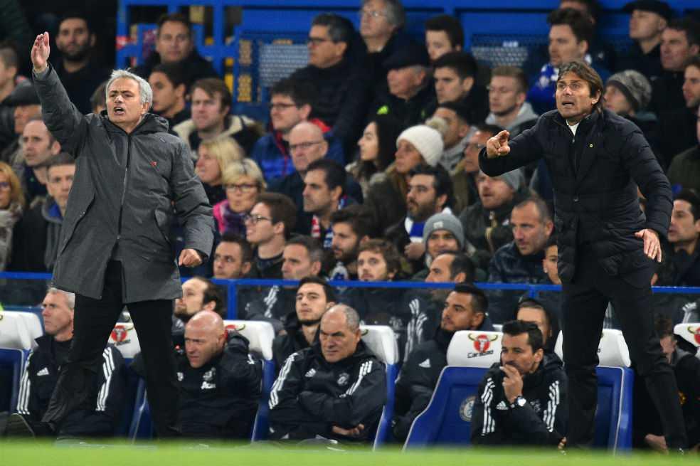 Tensión entre Mourinho y Conte: «Hay que tener respeto en el campo, no por fuera»