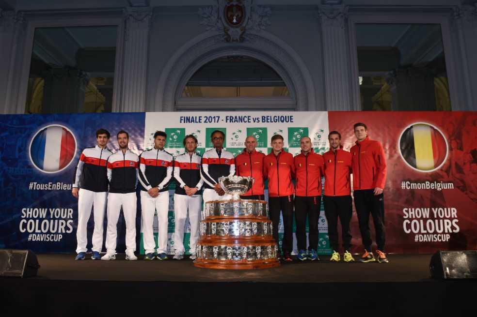 Empieza la disputa por la Copa Davis