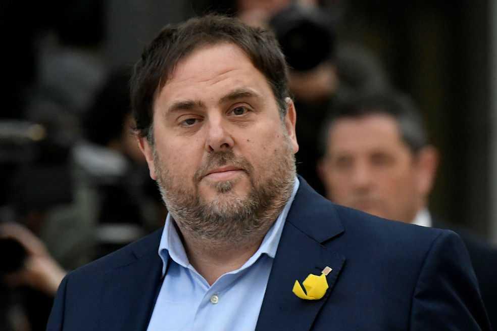 El exvicepresidente catalán exige salir de la prisión