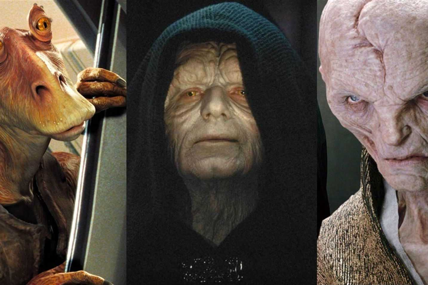 ¿Cuál es el personaje más odiado de Star Wars?
