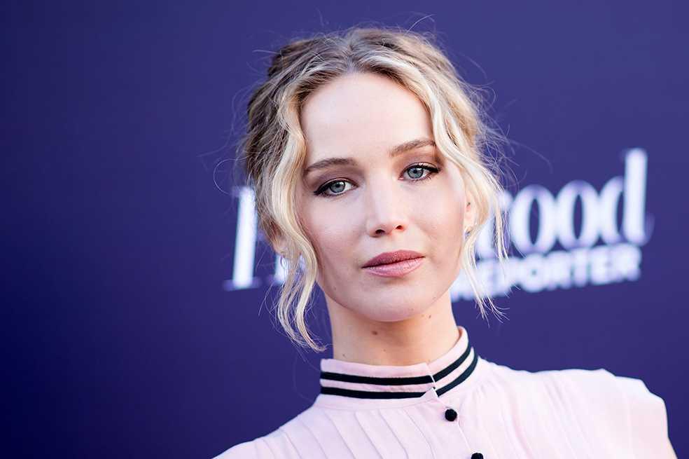 Jennifer Lawrence fue premiada por su carácter inspirador
