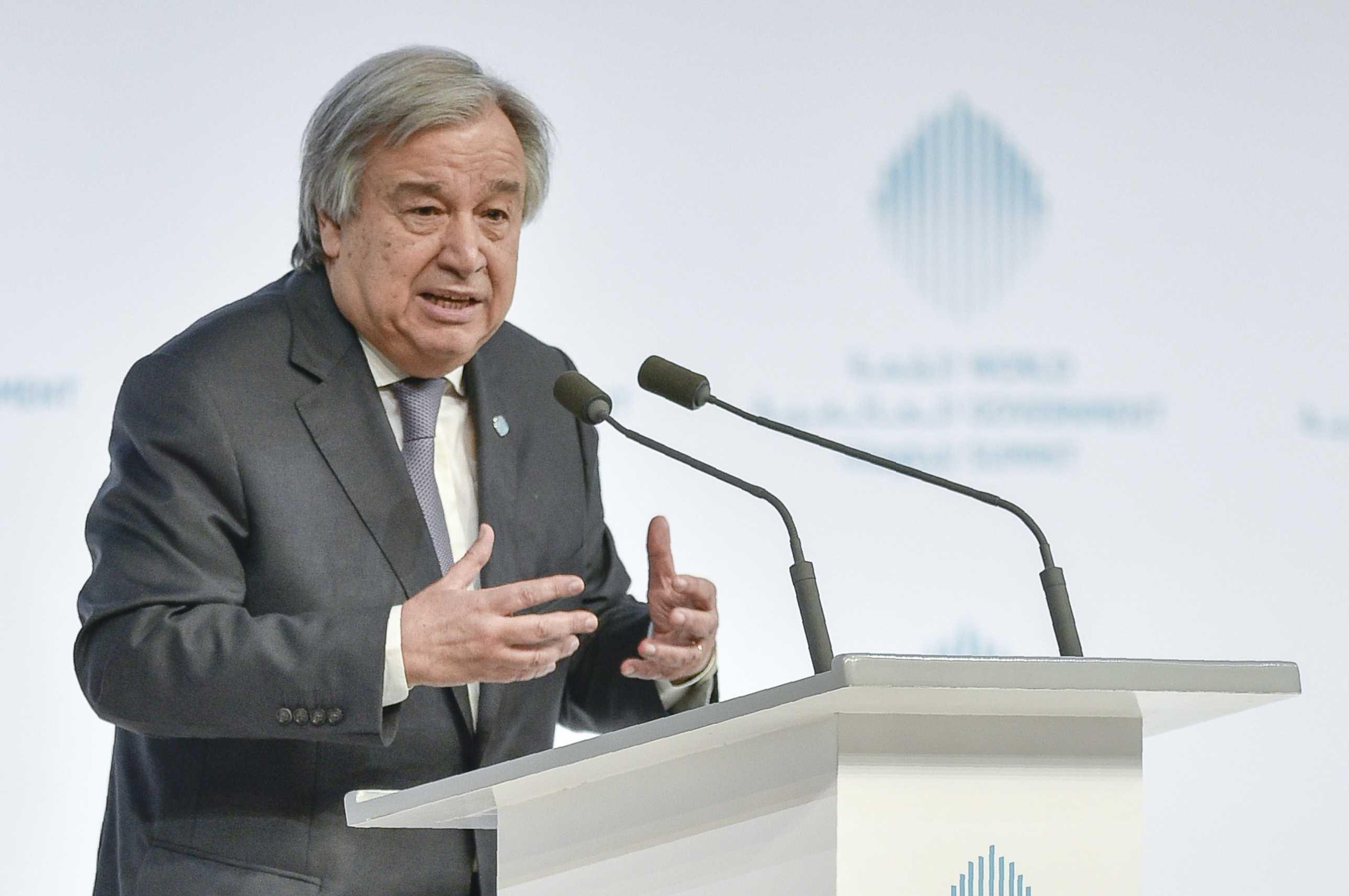 """La """"alerta roja"""" del secretario general de la ONU para 2018"""