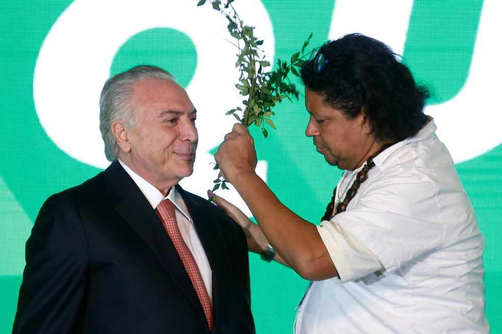Hombre quiso librar a presidente Michel Temer de maleficio «vudú»