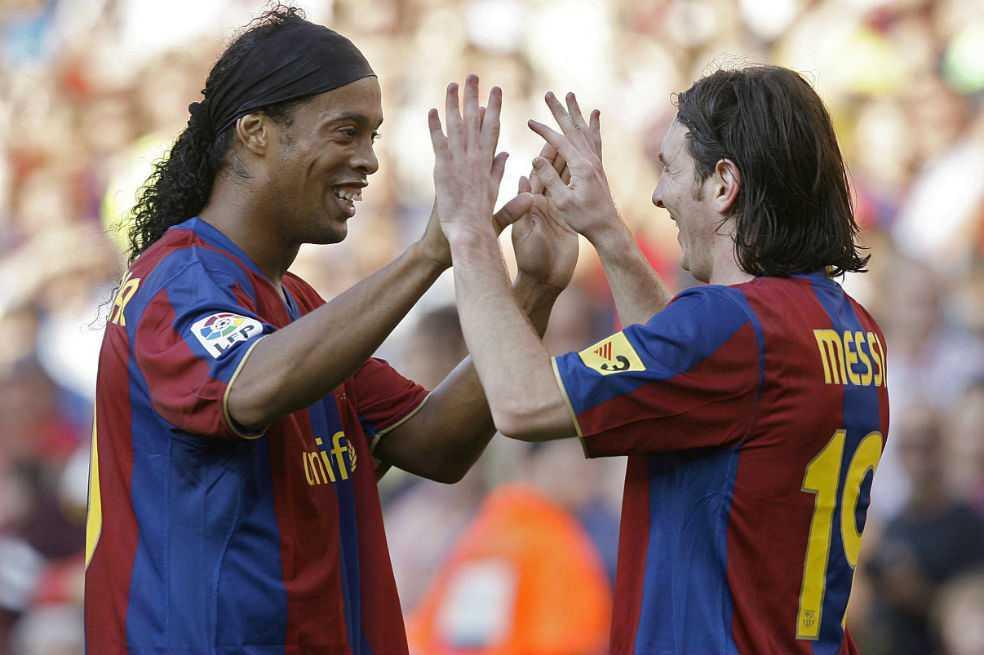 «El fútbol no se olvidará de tu sonrisa jamás», el mensaje de Messi a Ronaldinho