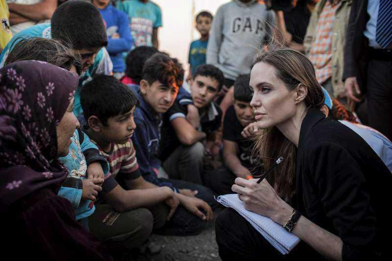 Angelina Jolie pide a Consejo de seguridad de ONU solucionar conflicto sirio
