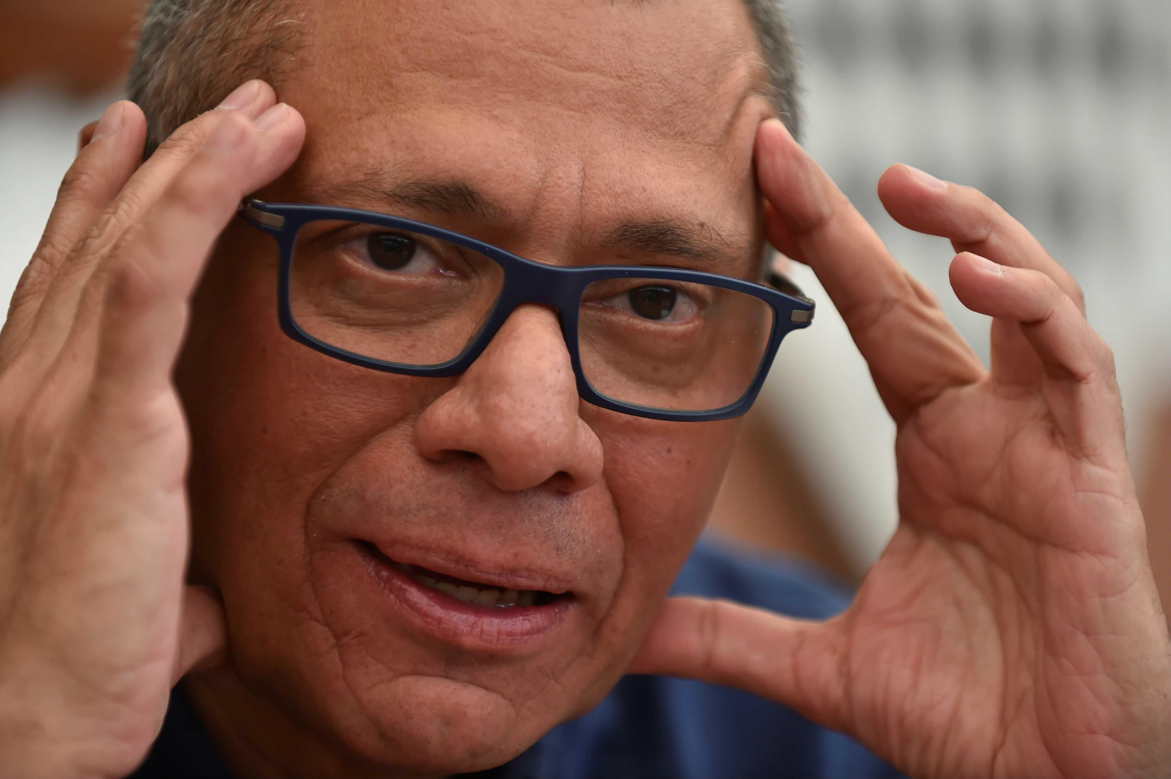 Oficialmente Jorge Glas dejó de ser el vicepresidente de Ecuador