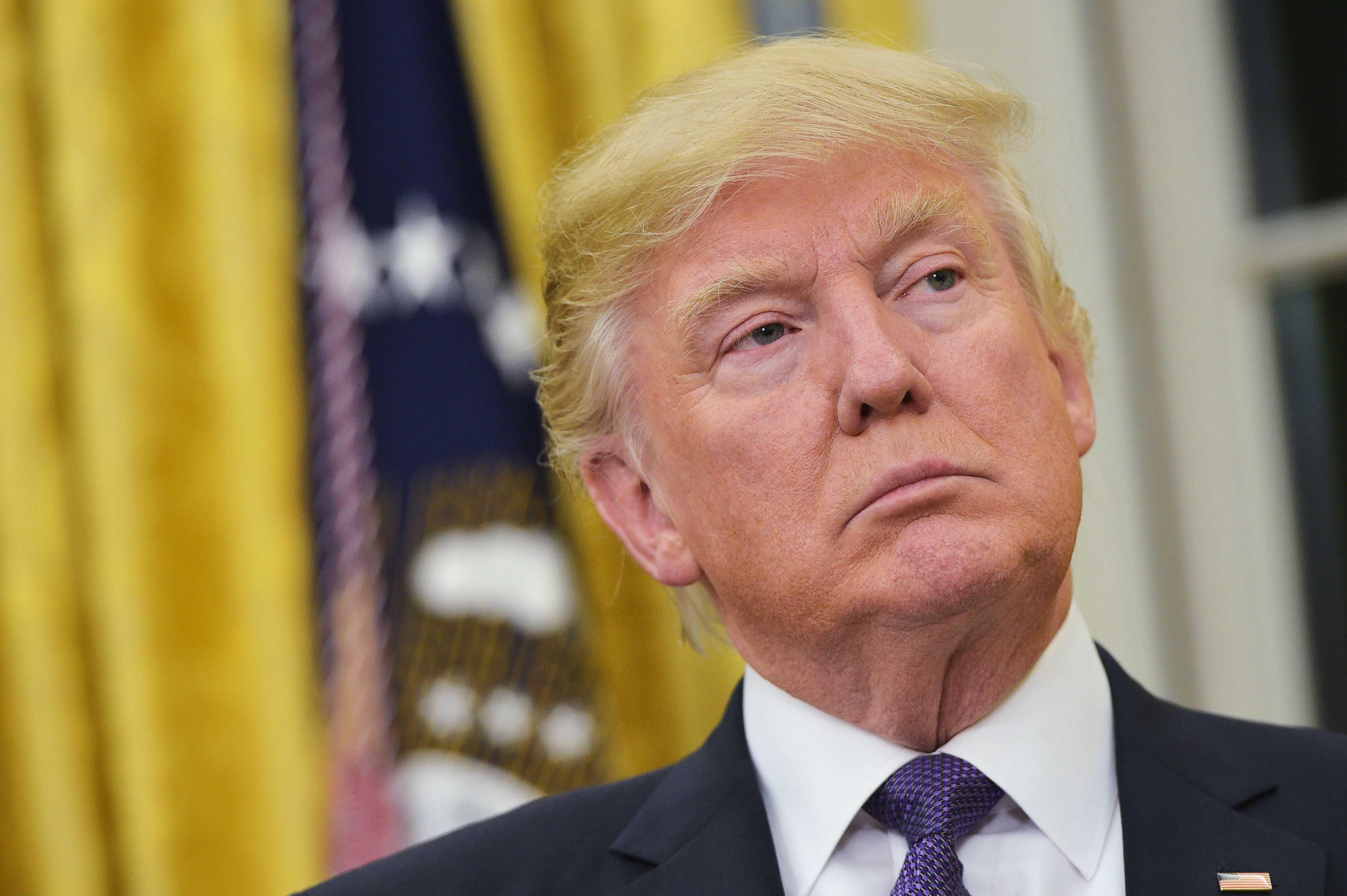 Trump niega ser racista, mientras EE.UU. celebra a Martin Luther King