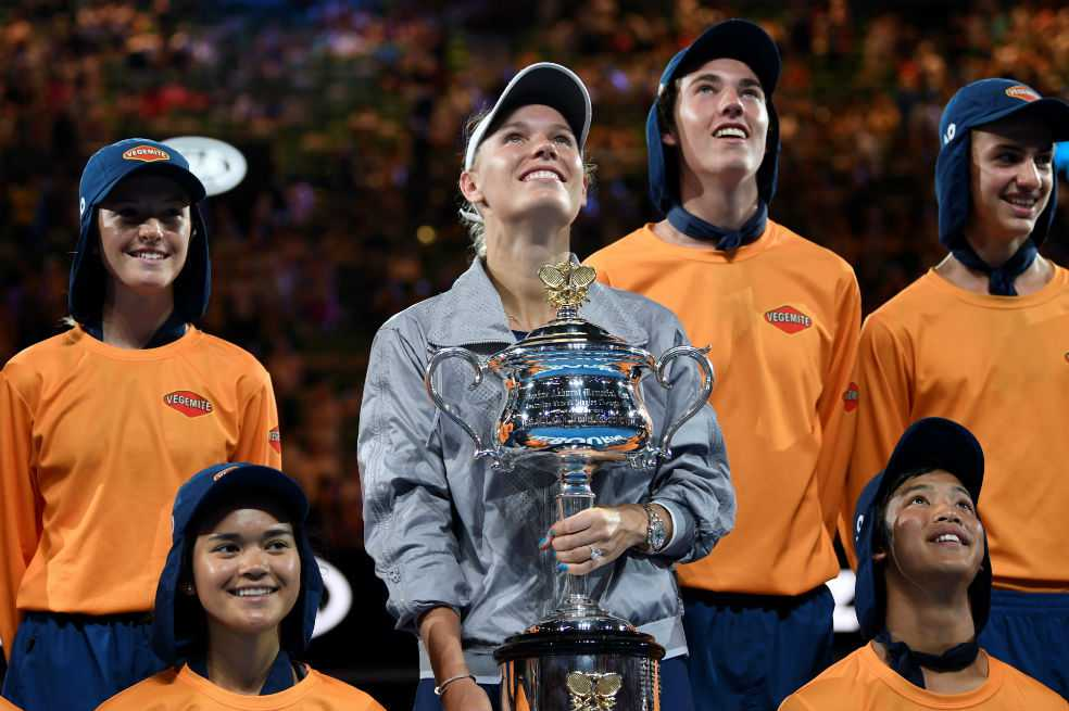 Caroline Wozniacki se consagró campeona del Abierto de Australia