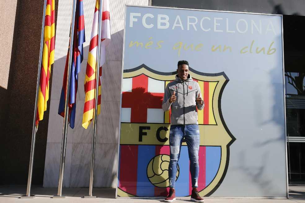 """""""Siempre lo soñé"""": Yerry Mina sobre su llegada al Barcelona"""
