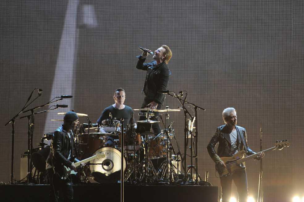 El concierto de U2 en Bogotá