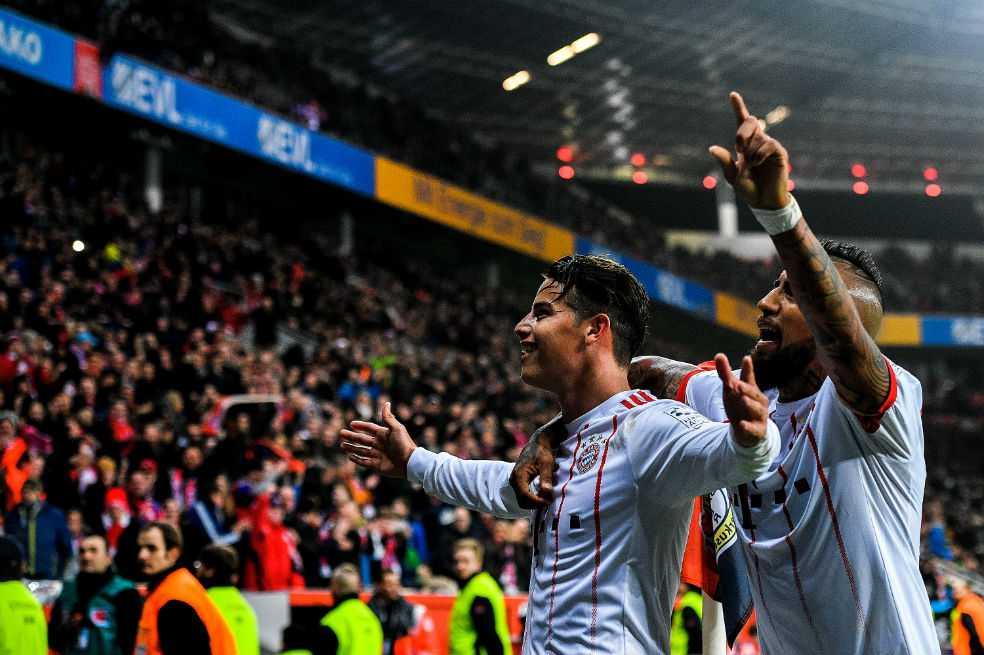 Hummels sobre James: «Su desarrollo futbolístico es sobresaliente»