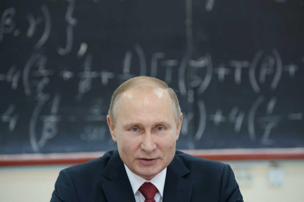 Putin confiesa que no tiene smartphone