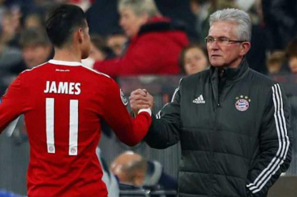 Palabras paternales de Jupp Heynckes hacia James Rodríguez