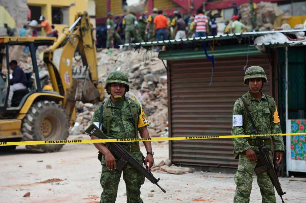 Gobierno mexicano declara emergencia por terremoto en 33 municipios