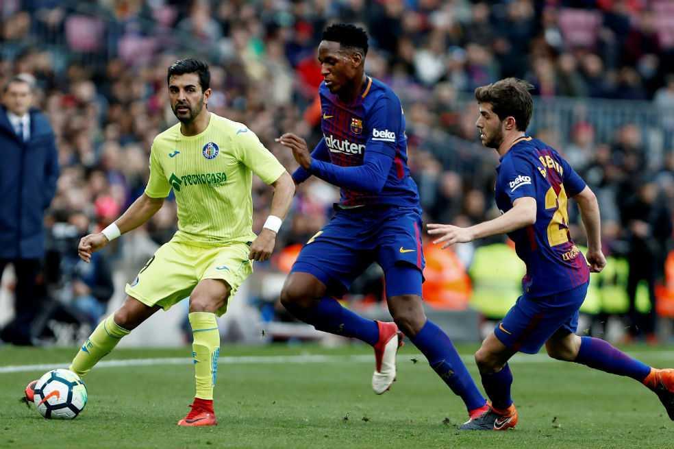 ¿Por qué Yerry Mina no volvió a ser convocado con el Barcelona?